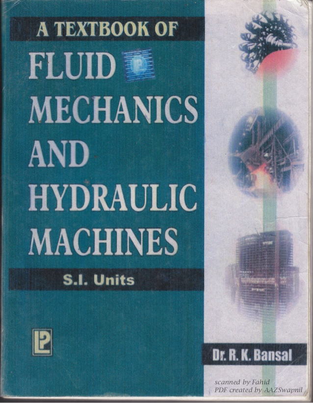 R K Bansal Fluid Mechanics Review And Ebook Eduinformer Com