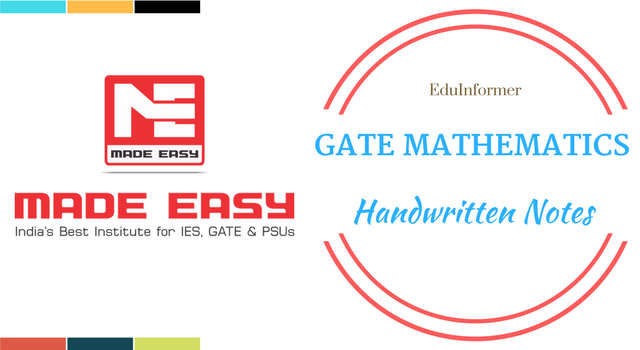 Gate made easy engineering mathematics pdf download eduinformer fandeluxe Image collections