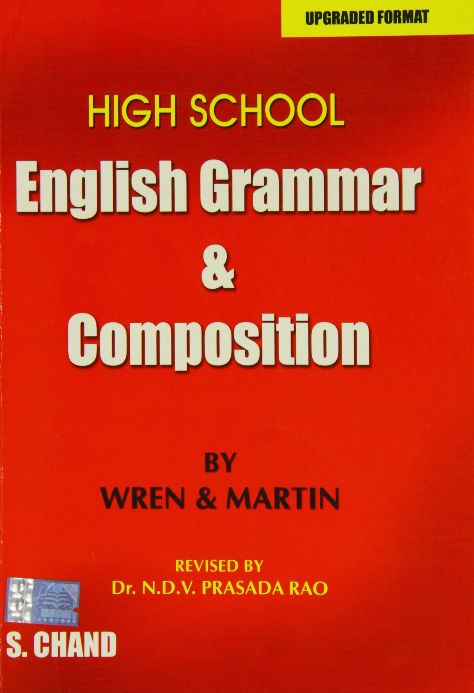 High School English Grammar and position by Wren & Martin