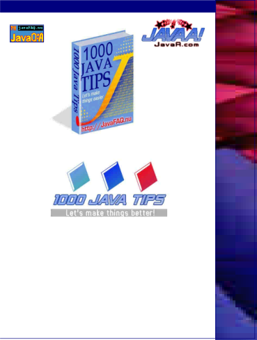 1000 Java Tips : Free Computer Programming Book - EduInformer com