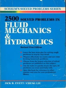 Schaums 2500 Solved Problems In Fluid Mechanics Hydraulics Tsm