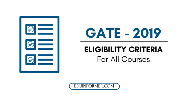 GATE-2019-Documents-Required
